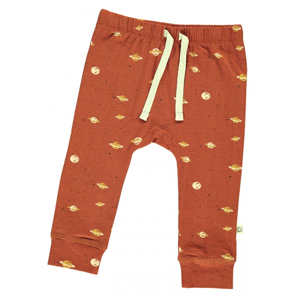Pantalón largo de bebé de algodón orgánico - saturno de ...